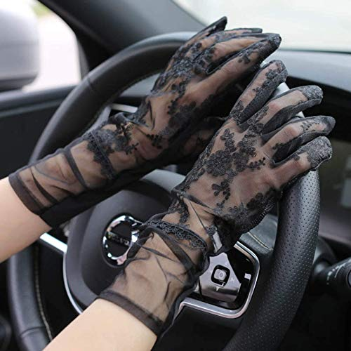 Hombres solares transpirables Split Finger Gloves + Hombres Mujeres Guantes de sol, Guantes de pesca, Adecuado para conducir Pesca Pesca Golfia de golf Actividades al aire libre Guantes de protección