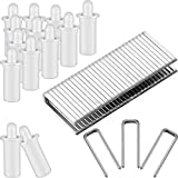 80 Pieces Repair Plantation Shutters Repair Kit, Including 40 Pieces Spring Loaded Shutter...