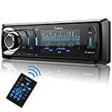 SjoyBring Car CD Player with Bluetooth, Car Stereo with Hands Free Calling, HD...