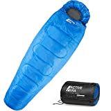 Mummy Sleeping Bag with Compression Sack for 3-4...