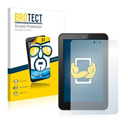 BROTECT Schutzfolie kompatibel mit HP Pro Tablet 408 G1 (2 Stück) klare Bildschirmschutz-Folie