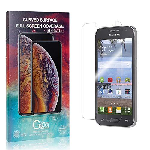 MelinHot Verre Trempé pour Galaxy Core Prime, sans Bulles, 3D Touch, Anti Rayures Protection en Verre Trempé Écran pour Samsung Galaxy Core Prime, Dureté 9H, 2 Pièces