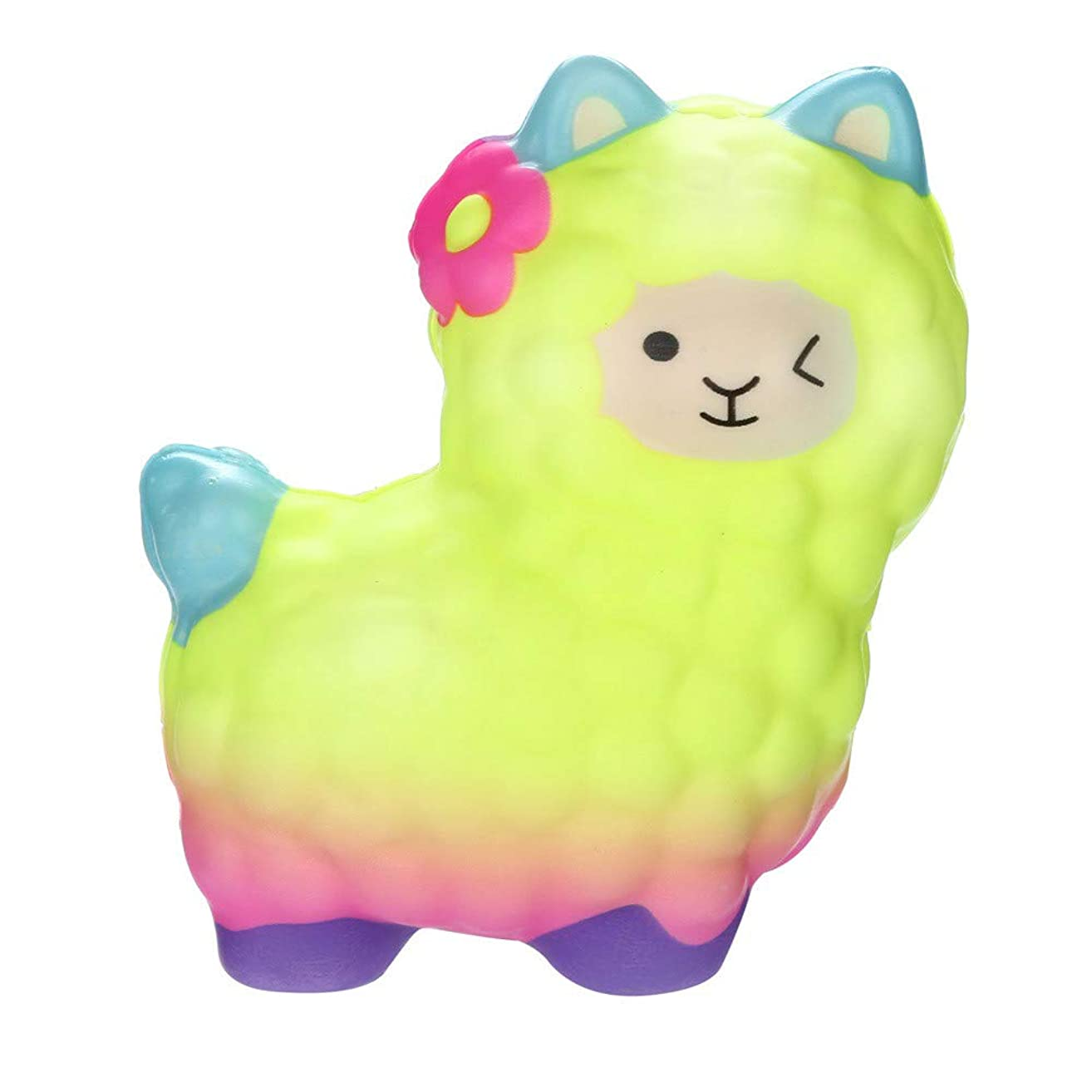 Stress Relief Toys,Squishies Adorable Llamas Slow Rising Fruits Scented Squeeze Stress Relief Toys