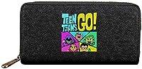 漫画のキャラクター漫画GO 財布 長財布 小銭入れ ジッパー 高級感 おしゃれ 多機能 大容量 収納 カードケース コインケース 男女兼用 人気 誕生日プレゼント