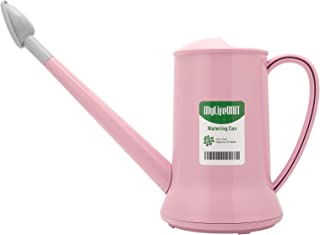 MyLifeUNIT Watering Can for Indoor Plants, Small Watering Pot with Sprinkler Head (1/2-Gallon, Pink)