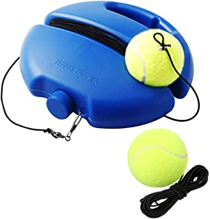 SIEBIRD Tennis Trainer Rebound Ball - Solo Tennis Self-Study Practice Trainer Gear - Complete Tennis Rebounder Tennis Training Equipment Kit