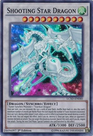 Yu-Gi-Oh! - Shooting Star Dragon (LC5D-EN040) - Legendary Collection 5D's Mega Pack - 1st Edition - Super Rare by Yu-Gi-Oh!…