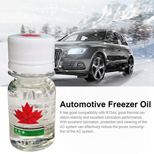 lingzhuo-shop 40 ml Aire Acondicionado automotriz refrigerante refrigerante ecológico compresor Aceite Especial