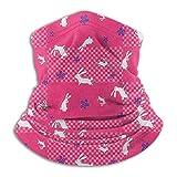Pink Rabbit Seaml Bandanas Maske Gesicht Stirnband Schal Headwrap Neckwarmer für draußen Raves...