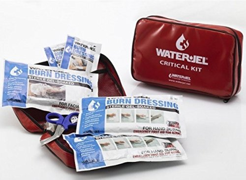 Water-Jel® 'CRITICAL BURN KIT' in kleiner Tasche