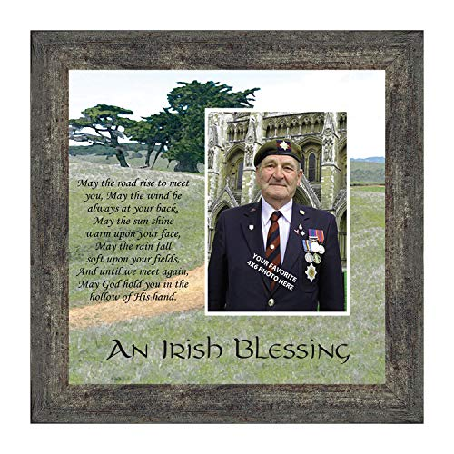 Crossroads Home Décor an Irish Blessing, Irish Blessing Picture Frame, May The Road Rise to Meet You, 6786BW
