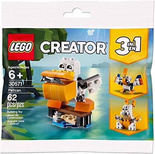 LEGO Polybag Set 30571 Creator Pelican 3 in 1 Pellicano Limited Edition