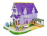 Melissa & Doug 3D Puzzle Dollhouse - Purple