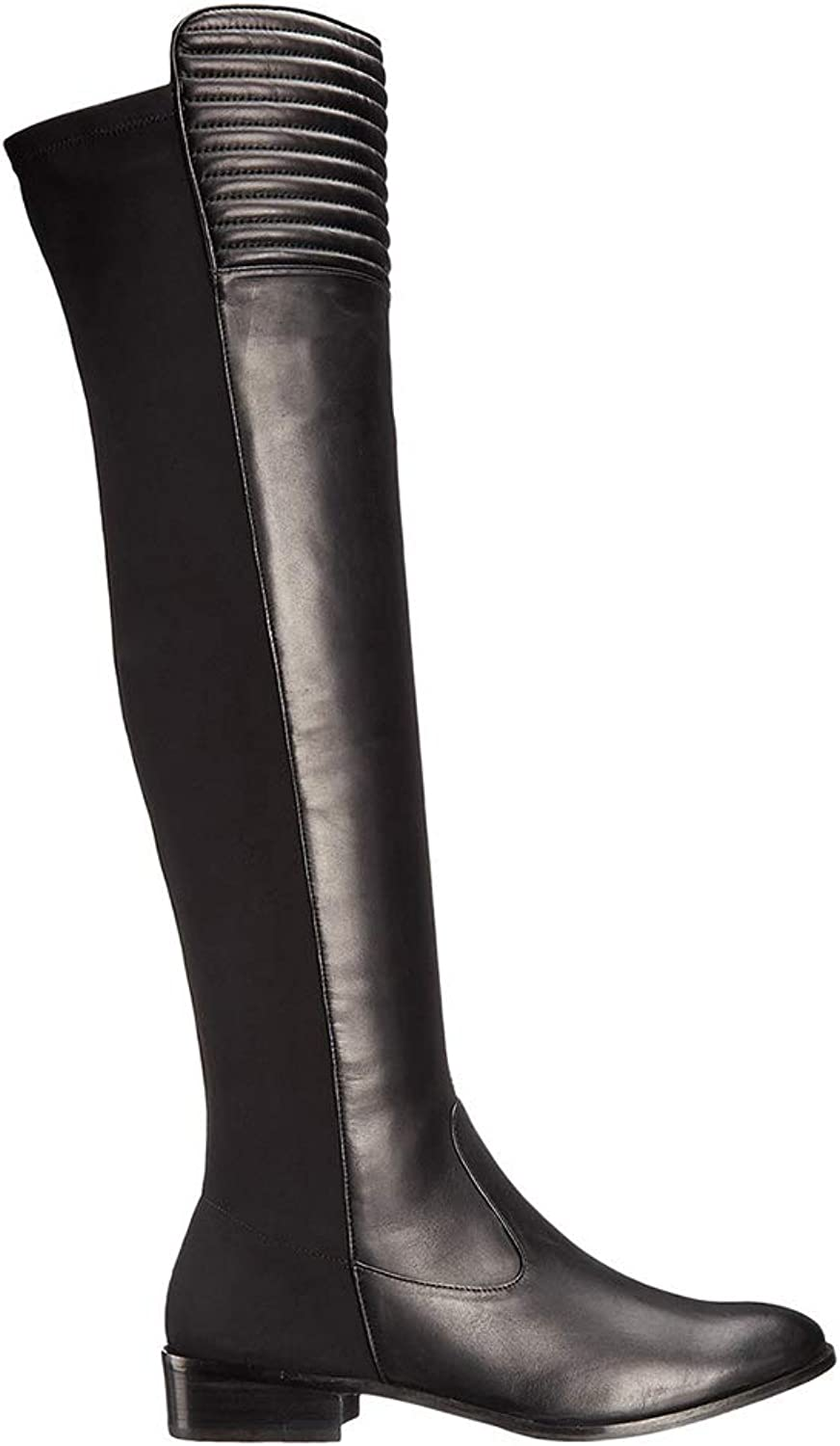 Boots Ladies, Knight Boots and Knee Boots Slim   Leather Side Zip Women's Boots