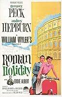 直輸入、ポスター「ローマの休日」オードリー・ヘップバーン、グレゴリー・ペック