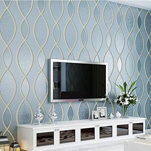Cyalla Mode Vliestapete Tv Hintergrund 3D Wandbild Geprägt 3D Flockdruck Tapeten-280X200CM