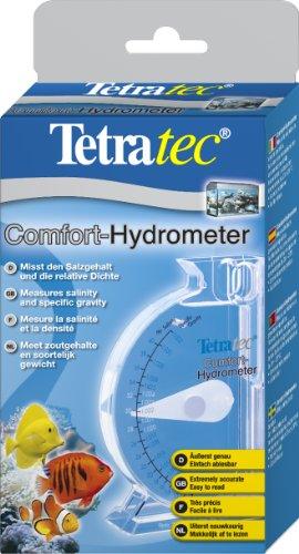 Tetra Comfort-Hydrometer (Messgerät zur Bestimmung des Salzgehalts und der relativen Dichte im Aquarium)