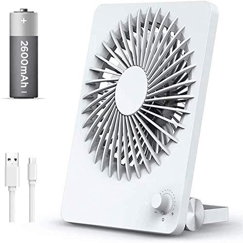 RXL Mute Cama de escritorio recargable de oficina con ventilador USB pequeño, mini ventilador silencioso de escritorio de oficina pequeño
