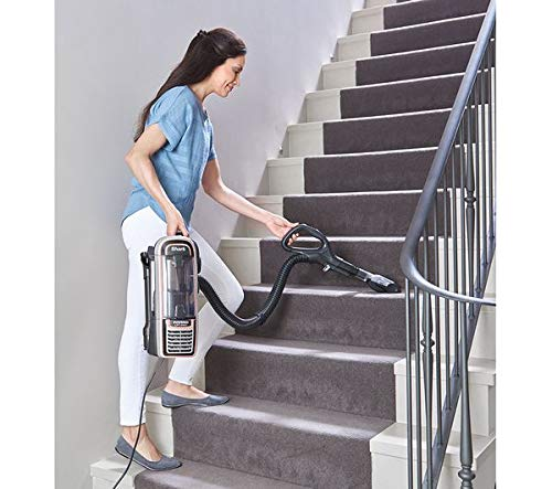 SHARK DuoClean Powered Lift-Away True Pet Anti Hair Wrap AZ910UKT Upright Bagless Vacuum Cleaner. You can move from room…