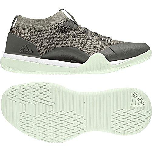 adidas Pureboost X Trainer 3.0, Scarpe da Fitness Donna, Marrone (Cinder/tracar/aergrn), 41 1/3 EU