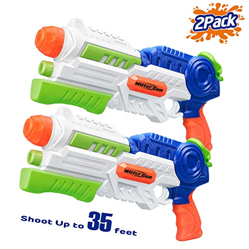 HITOP Water Gun, 2 Pack Squirt Guns Water Guns for Kids Adults Water...