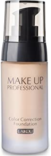 BB Cream Foundation Bare Makeup Concealer Light/Medium Skintones para la crema hidratante facial Cover Up Skin Flaw Isolation Dust UV(3#)