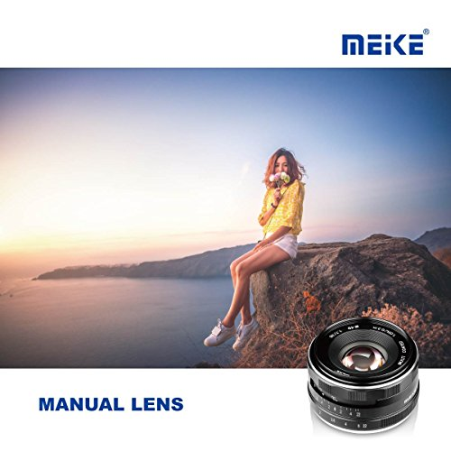 Meike 35mm F1.7 Large Aperture Manual Prime Fixed Lens APS-C for Sony E-Mount Digital Mirrorless Cameras NEX 3 3N 5 NEX 5T NEX 5R NEX 6 7 A6600 A6400 A5000 A5100 A6000 A6100 A6300 A6500 A3000