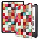 Lobwerk Funda para Amazon Kindle 2019 (10. Generación) Funda Smart Cover de 6 Pulgadas con función Atril y función de Encendido y Apagado automático. Rojo 09