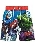 Marvel Costume da Bagno per Ragazzi a Due Pezzi Avengers Multicolore 7-8 Anni...