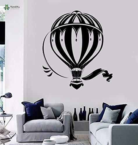 Hetingyue wandlamp van vinyl, ballon reis woonkamer retro kunstenaar huis decoratie zelfklevend