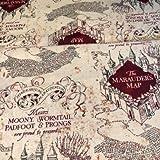 Stoff, Harry-Potter-Motiv, 100% Baumwolle VISF57 Harry