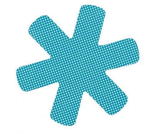 Teller- und Tassenschutz 6 Stück blau