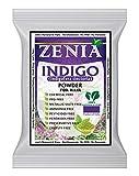 Zenia Indigo Powder (Indigofera Tinctoria) Hair/Beard...
