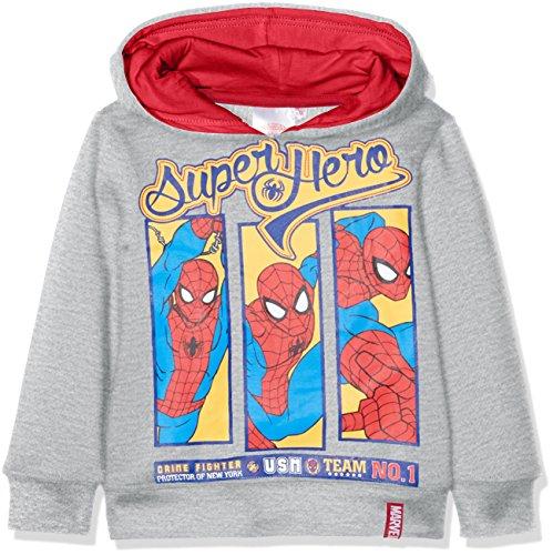 Marvel Spiderman Superhero Sudadera, Gris (Grey), 2-3 años para Niñ