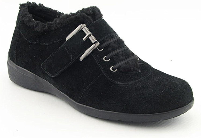 Easy Spirit Women's Idris Sneaker (6, Black)