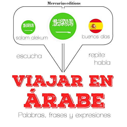 Viajar en árabe audiobook cover art