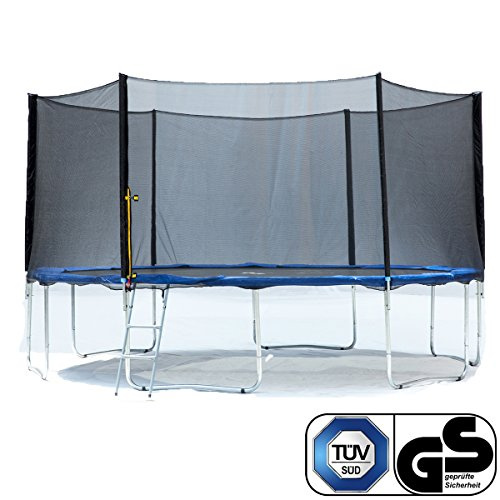 Exacme Garden Outdoor trampolino con rete di sicurezza Pad tappetino elastico e scaletta Best gift for family Gst certificato TUV e UV approvato