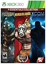 2K Essentials Collection: BioShock / Borderlands / XCOM - Enemy Unknown - XBox 360