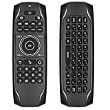 Air Remote Control, Strqua G7BTS Air Remote Mouse with Backlit, 2.4G Wireless Kodi Remote Control, Mini Wireless Keyboard & Infrared Remote Control for Android Smart Tv Box HTPC IPTV PC Pad