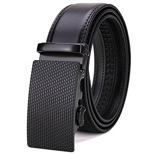 Tonly Monders Men's 35mm Dress Leather Ratchet Belt...