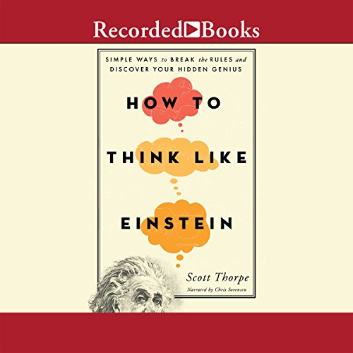 How to Think Like Einstein audiobook cover art