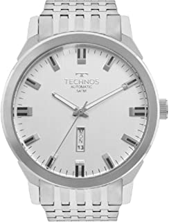 Relógio Masculino Technos Automático 8205OE/1K Prata