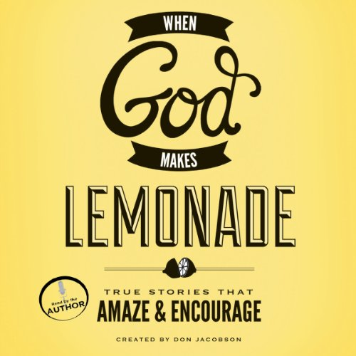 When God Makes Lemonade audiobook cover art