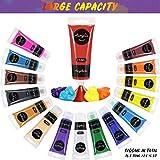 Immagine 2 set di colori acrilici per