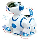 Liberty Imports Smart Robot Dog Toy - Bump and Go Electronic Pet Puppy - Walks, Dances with Lights and Sounds for Kids, Boys, Girls