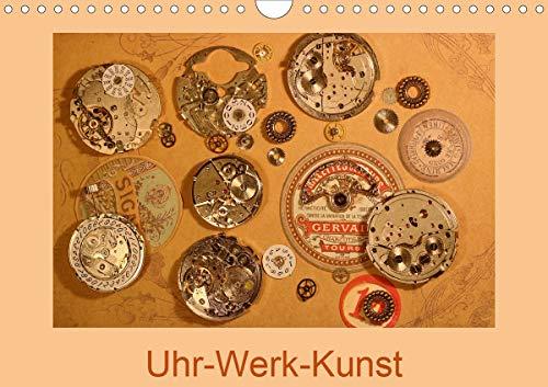 Uhr-Werk-Kunst (Wandkalender 2021 DIN A4 quer)