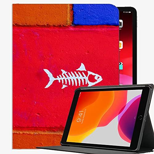 para iPad Air2 9,7 Pulgadas de 9,7 Pulgadas de Cubierta, Funda de Pintura de Pared de Pescado Cubierta de Concha Delgada para iPad Air2 9.7 Pulgadas