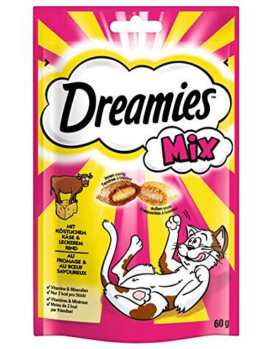 Dreamies Katzensnack Mix Käse und Rind, 60g