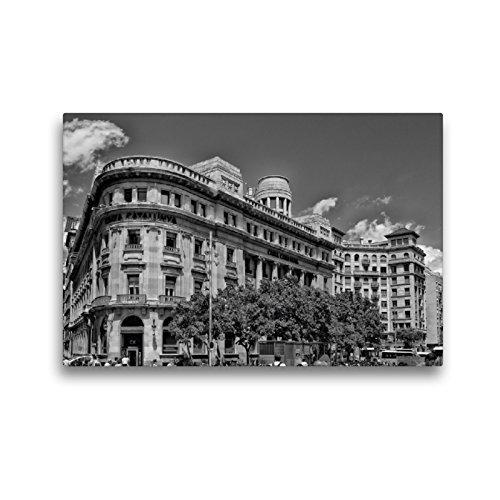 CALVENDO Premium Lienzo 45 cm x 30 cm Horizontal, Placa Nova Imagen sobre Bastidor, Lienzo de auténtica Lienzo Impreso Orte Orte