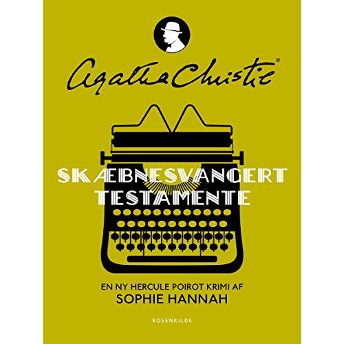 Skæbnesvangert testamente (Agatha Christie) audiobook cover art
